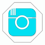 INSTAGRAM Blue logo